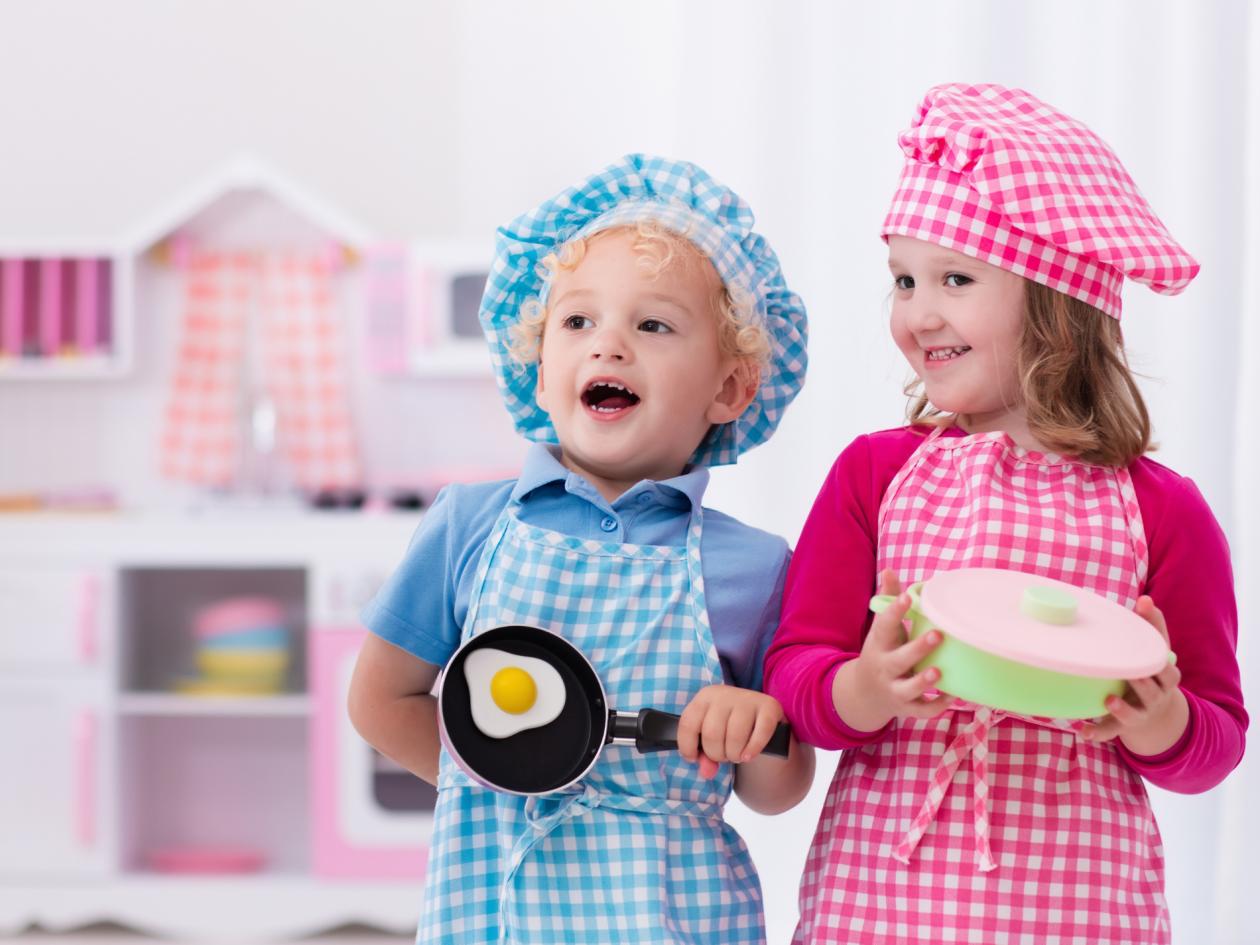 Dječja kuhinja: Kada je idealno vrijeme za nju?