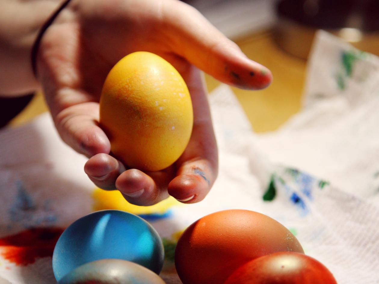 Bojanje jaja za Uskrs