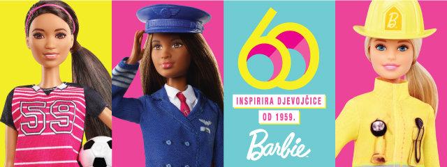 Barbie mali baner 60. rođendan